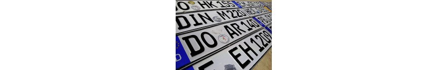 VIN, LICENSE PLATE SERVICES FOR DIFFERENT COUNTRIES