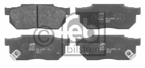 FEBI BILSTEIN 20959 - Brake Pad Set, disc brake Front Axle