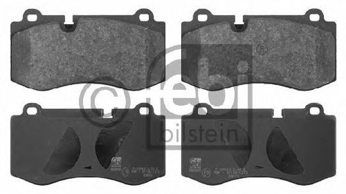FEBI BILSTEIN 23960 - Brake Pad Set, disc brake Front Axle MERCEDES-BENZ