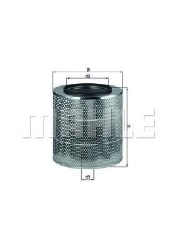 LX 2814 KNECHT 70514353 - Air Filter VOLVO