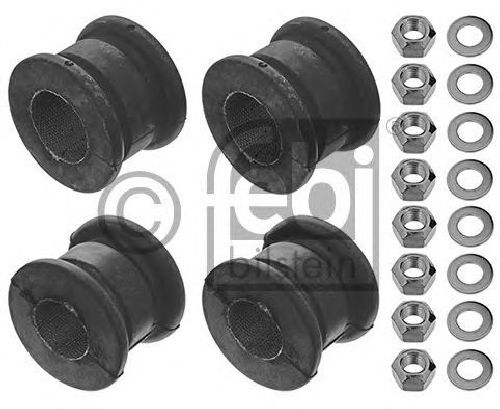 FEBI BILSTEIN 18058 - Repair Kit, stabilizer suspension Front Axle left and right