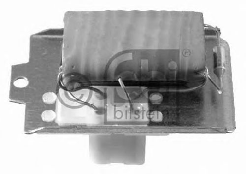 FEBI BILSTEIN 19024 - Resistor, interior blower
