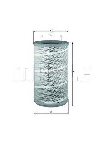 LX 605/1 KNECHT 76610729 - Air Filter SCANIA