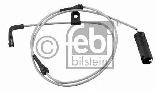 FEBI BILSTEIN 21072 - Warning Contact, brake pad wear Rear Axle left and right
