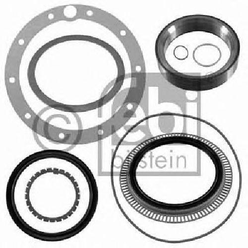 FEBI BILSTEIN 21946 - Gasket Set, wheel hub Rear Axle left and right MERCEDES-BENZ