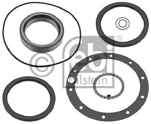 FEBI BILSTEIN 21949 - Gasket Set, wheel hub Rear Axle MERCEDES-BENZ