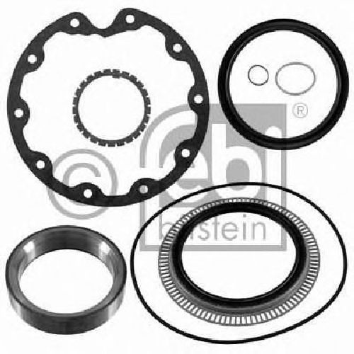 FEBI BILSTEIN 21976 - Gasket Set, wheel hub Rear Axle MERCEDES-BENZ