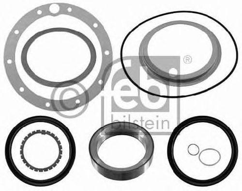 FEBI BILSTEIN 21982 - Gasket Set, wheel hub Rear Axle MERCEDES-BENZ