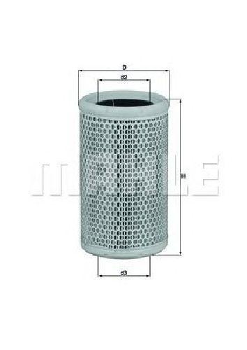 LX 911 KNECHT 78444416 - Air Filter