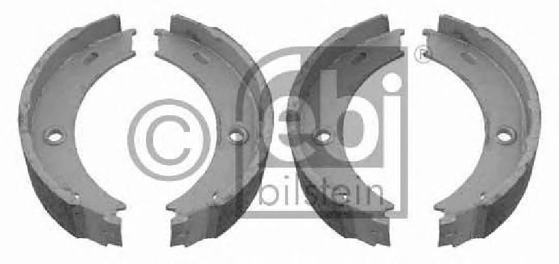 # FEBI 23998 BRAKE SHOE SET PARKING BRAKE Rear