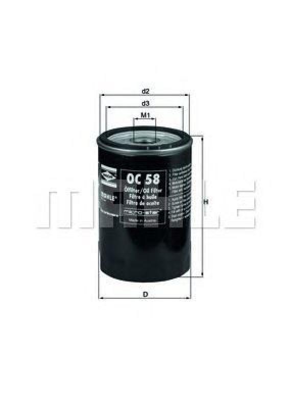 Bosch 0986452023 Oil Filter