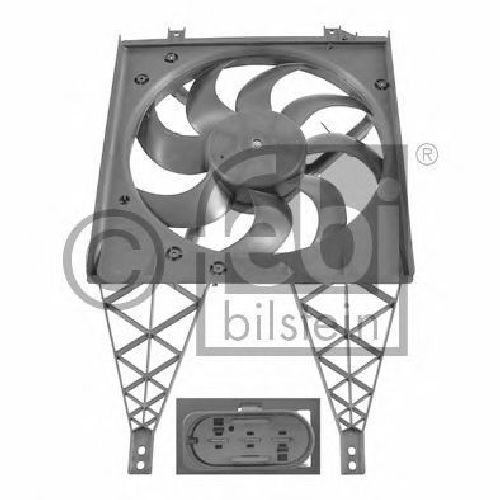 FEBI BILSTEIN 26860 - Fan, radiator VW