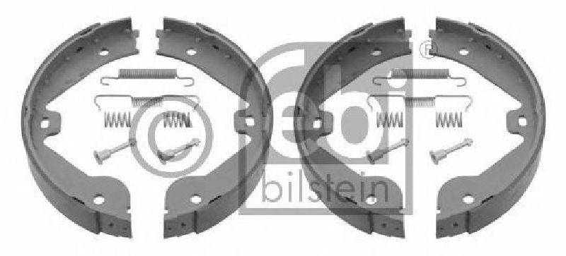 FEBI 28730 Brake Shoe Set parking brake Rear Axle