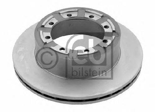 FEBI BILSTEIN 29177 - Brake Disc Rear Axle RENAULT TRUCKS