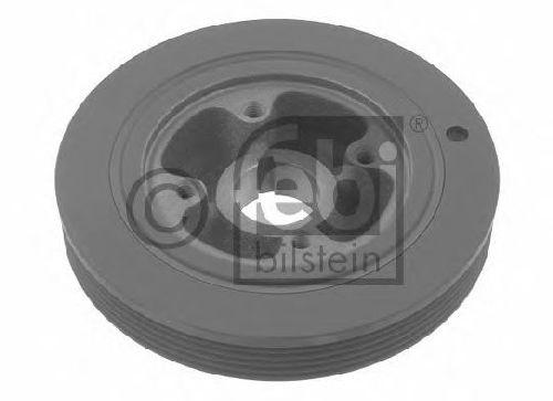 Pack of 1 febi bilstein 30408 pulley decoupled for Crankshaft