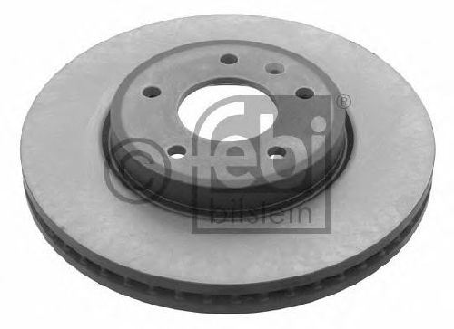 FEBI BILSTEIN 31425 - Brake Disc Front Axle VAUXHALL, OPEL, CHEVROLET