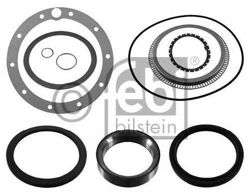 FEBI BILSTEIN 39276 - Gasket Set, wheel hub Rear Axle MERCEDES-BENZ