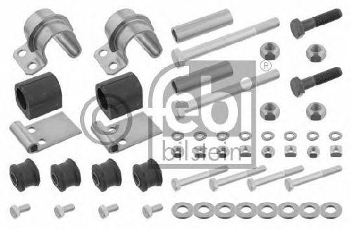 FEBI BILSTEIN 02566 - Repair Kit, stabilizer suspension Rear Axle left and right