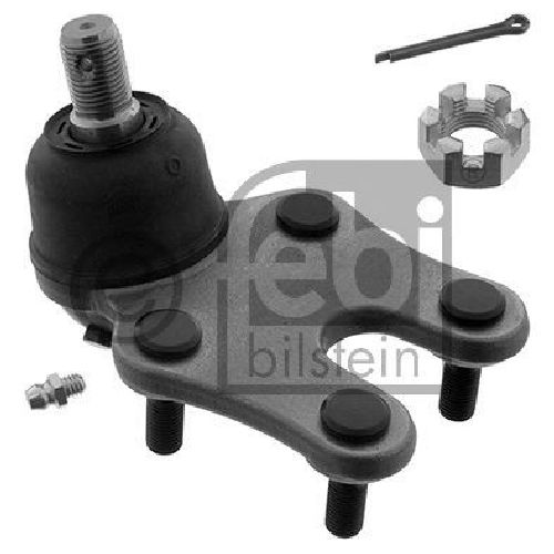 FEBI BILSTEIN 41357 - Ball Joint Lower | Front Axle left and right