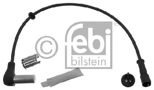 FEBI BILSTEIN 45241 - Sensor, wheel speed Front Axle | Rear Axle DAF