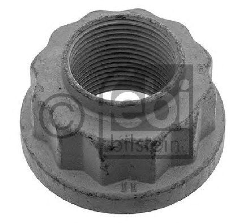 drive shaft Front Axle FEBI 01229 Axle Nut