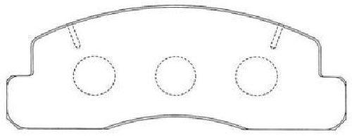 AISIN ASN-169 - Brake Pad Set, disc brake