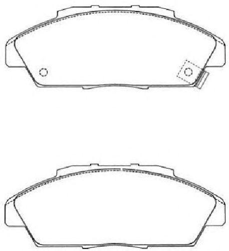 AISIN ASN-201 - Brake Pad Set, disc brake