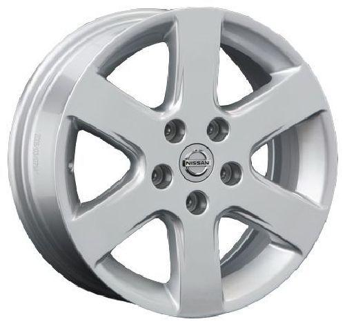 Replica NS13 6x15/4x100 D60.1 ET45 Silver