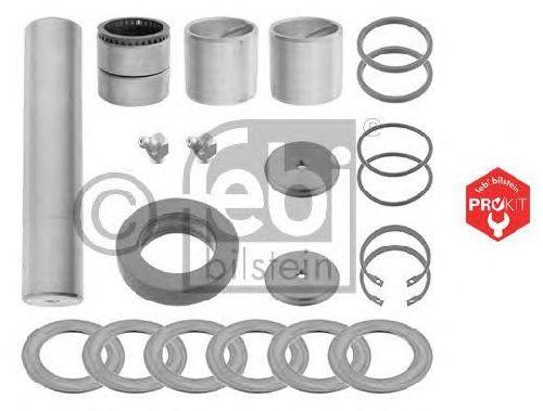 FEBI BILSTEIN 04495 - Repair Kit, kingpin PROKIT Front Axle left and right Front Axle MAN