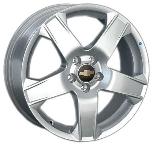 Replica GM35 5.5x14/4x100 D56.6 ET45 Silver