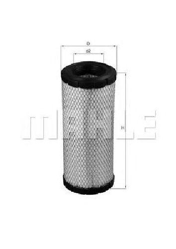 LX 1241 KNECHT 76564710 - Air Filter NEW HOLLAND, JOHN DEERE