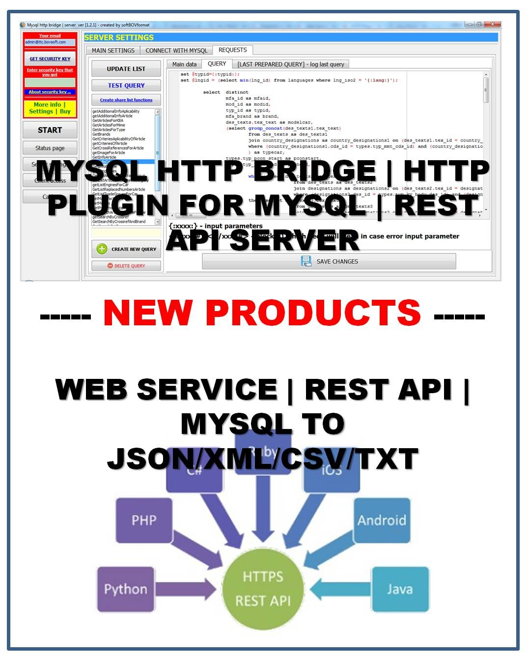 WEB-SERVER | MYSQL HTTP BRIDGE