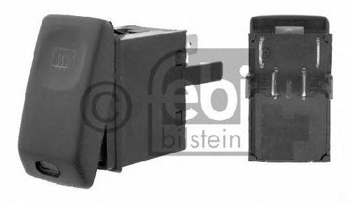 FEBI BILSTEIN 15628 - Switch, rear window heating