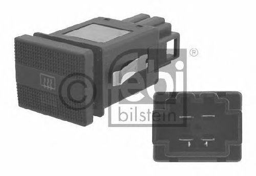 FEBI BILSTEIN 17874 - Switch, rear window heating