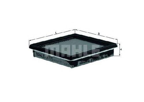 LX 725 KNECHT 76599070 - Air Filter