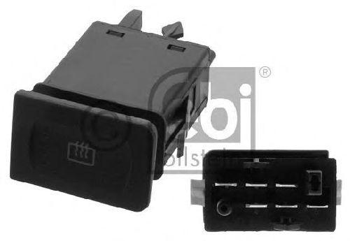 FEBI BILSTEIN 38627 - Switch, rear window heating