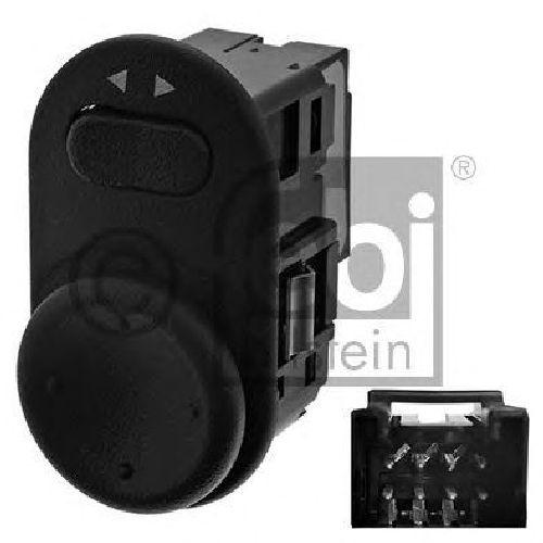 FEBI BILSTEIN 40477 - Switch, mirror adjustment Left OPEL, VAUXHALL