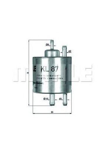 KL 87 KNECHT 79821927 - Fuel filter