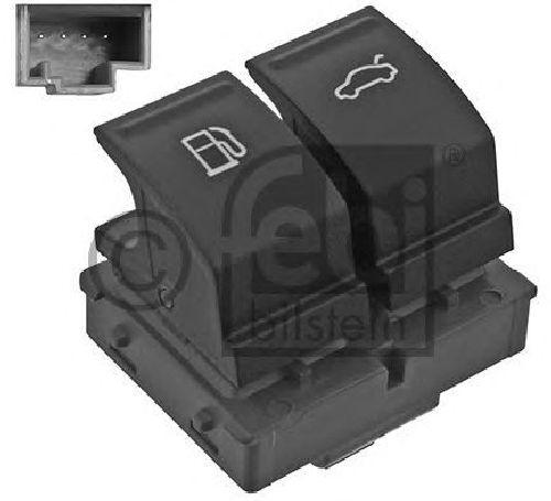 FEBI BILSTEIN 46754 - Switch, tank cap unlock VW