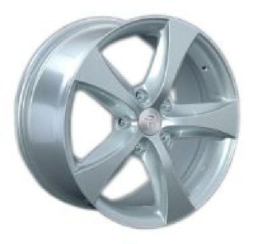 Replica VW160 8.5x18/5x130 D71.6 ET53 Silver